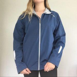 Blue saucony jacket